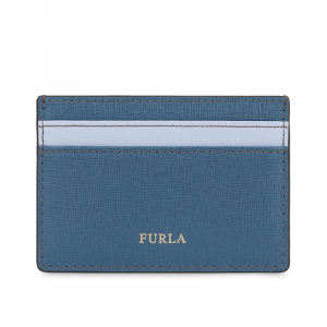 Credits card holder Furla BABYLON 1006897 COLOR PIOMBO f+VIOLETTA f