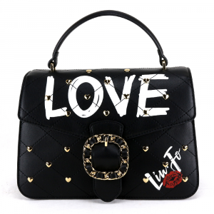Hand and shoulder bag Liu Jo ROMANTICA N19066 E0010 NERO