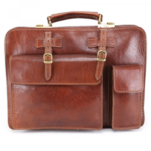 Briefcase  The Bridge  06430901 14 Cuoio