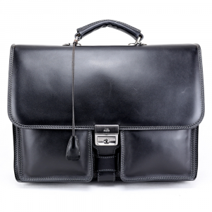 Briefcase  The Bridge  06501001 20 Nero