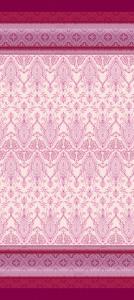 Bassetti Granfoulard furniture cloth FARAGLIONI var.1 pink