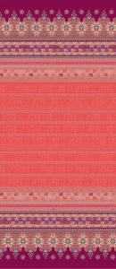 Bassetti Granfoulard MAIORI Einrichtungstuch var.1 rot 4 Größen