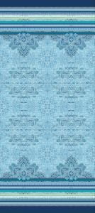 Bassetti Granfoulard telo arredo RAVELLO v3 Blu - 4  misure