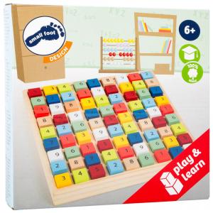 Sudoku colorato in legno Gioco didattico per bambini Educate