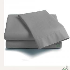 Lenzuola di sopra matrimoniale MAXI 290x310 ISTAR - grigio perla