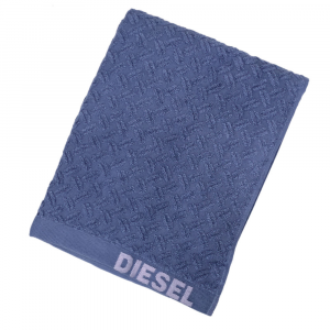 Telo da bagno 100x150 cm in spugna Diesel Stage blu indigo