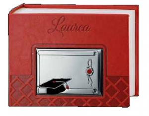 Album Laurea in Argento 20x15 cm.20x15