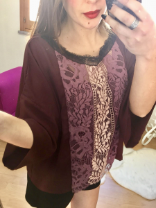 Maxi blusa Oroblu