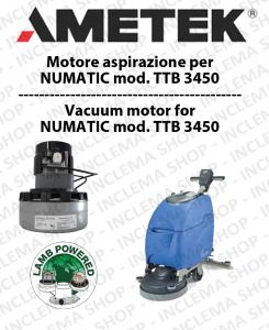 TTB 3450 MOTORE aspirazione AMETEK lavapavimenti NUMATIC
