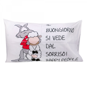 Eic-Pi Happy People Fantafedera 50x80 Happy Message BUONGIORNO