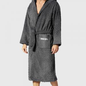 Diesel terry hooded bathrobe STAGE grey