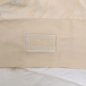 Quilt bedspread king size 270x260 cm Trussardi PLANET ivory