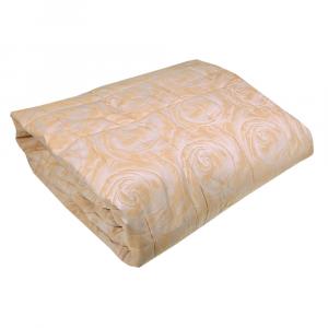 Copriletto trapuntato matrimoniale 2 piazze 270x260 cm Trussardi PLANET crema