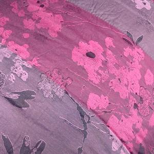 Quilt bedspread king size 270x260 cm Trussardi PLANET bordeaux
