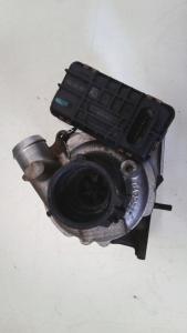 Turbocompressore dx usato originale Jaguar XF 1à serie dal 2007 al 2015 2.7 D