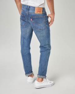Jeans Hi-Ball tapered lavaggio stone wash