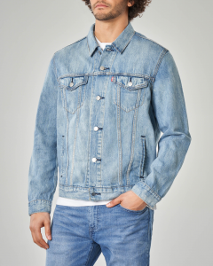 Trucker Jacket super stone wash