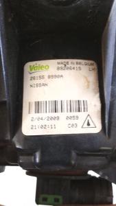 Proiettore fendinebbia sx usato originale Nissan X-Trail serie dal 2003 al 2007