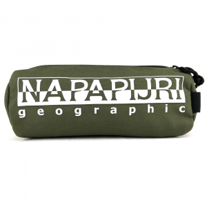 Nécessaire Napapijri HAPPY PENCIL CASE 1 N0YI0I GD3 GREEN MUSK
