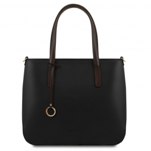 Tuscany Leather TL141791 Penelope - Leather tote Black
