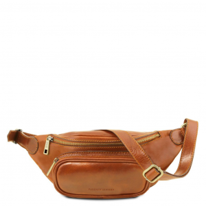Tuscany Leather TL141797 Leather fanny pack Honey