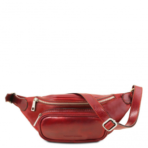Tuscany Leather TL141797 Leather fanny pack Red