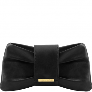 Tuscany Leather TL141801 Priscilla - Pochette in pelle Nero