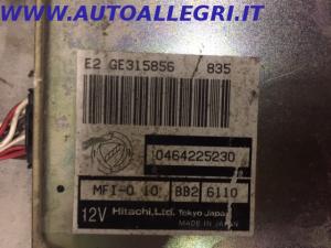 ECU CENTRALINA MOTORE LANCIA DEDRA HITACHI 0464225230 MFI-0 10