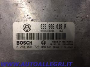 ECU CENTRALINA MOTORE VW PASSAT BOSCH 0281001720 0 281 001 720