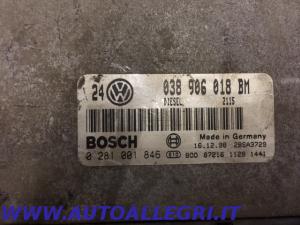 ECU CENTRALINA MOTORE VW GOLF IV BOSCH 0281001846 0 281 001 846