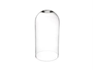 Cupola campana in vetro cm.40h diam.25