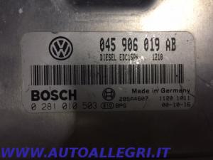 ECU CENTRALINA MOTORE VW POLO BOSCH 0281010503 0 281 010 503