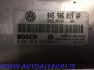 ECU CENTRALINA MOTORE VW POLO BOSCH 0281010865 0 281 010 865