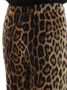 Pantalone  palazzo animalier moschino couture
