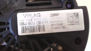Alternatore usato originale Volkswagen Golf 2.0 TSI GTI dal 2008>