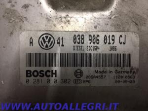 ECU CENTRALINA MOTORE VW GOLF IV BOSCH 0281010302 0 281 010 302