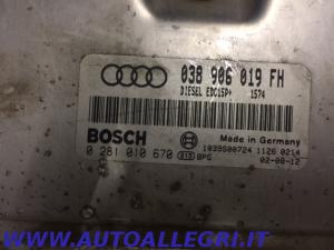 ECU CENTRALINA MOTORE VW AUDI A3 BOSCH 0281010670 0 281 010 670