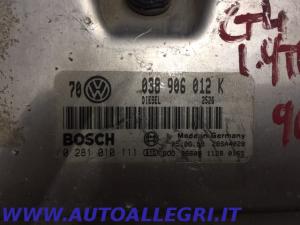 ECU CENTRALINA MOTORE VW GOLF IV BOSCH 0281010111 0 281 010 111