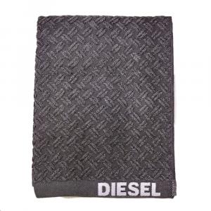 Telo da bagno 100x150 cm in spugna Diesel Stage grigio