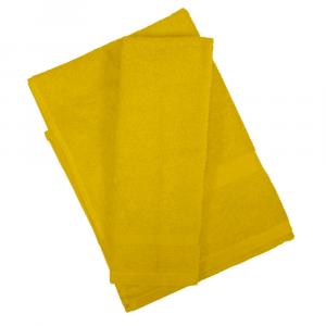 Set asciugamano e ospite SERENITY in spugna COGAL - giallo 072