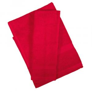 Set asciugamano e ospite SERENITY in spugna COGAL - rosso 020