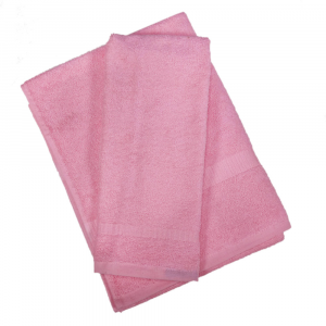 Set asciugamano e ospite SERENITY in spugna COGAL - rosa 010