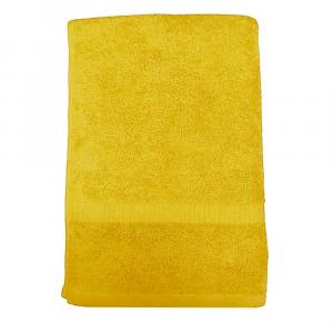 Telo da bagno tinta unita Giallo 072 COGAL 100x150 cm SERENITY