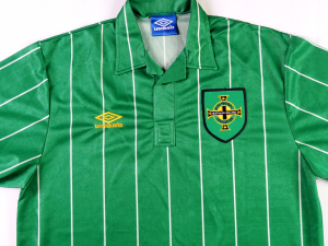 1992-94 IRLANDA DEL NORD MAGLIA HOME XL (TOP)