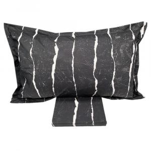 Set copripiumino singolo DIESEL percalle EMBOSSED GRADIENT grigio