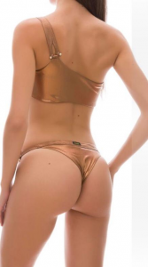 Bikini fascia e slip fianco Effek Taglia L