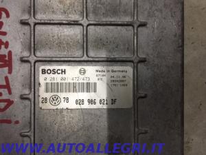 ECU CENTRALINA MOTORE VW GOLF III BOSCH 0281001472/473 0 281 001 472/473