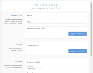 Storeden app - screenshot 1 - Fatture in Cloud