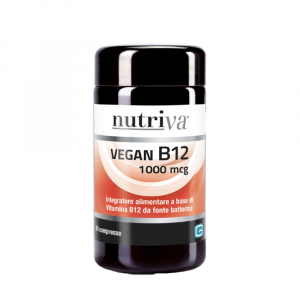 NUTRIVA VEGAN B12 INTEGRATORE VITAMINA B12 60 COMPRESSE 1000MCG
