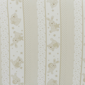Babysanity Paracolpi per lettino/culla lati corti lunghezza 195 cm (Fantasia riga beige) … related image